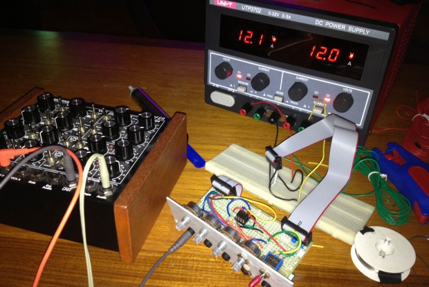 DIY CV mixer