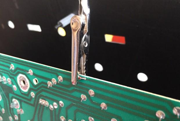 Solder diode